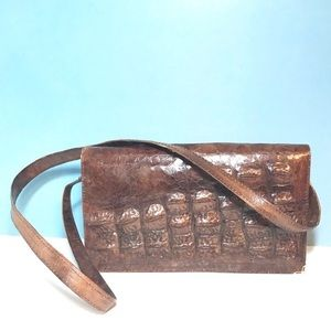 Handbags - Vintage Alligator purse